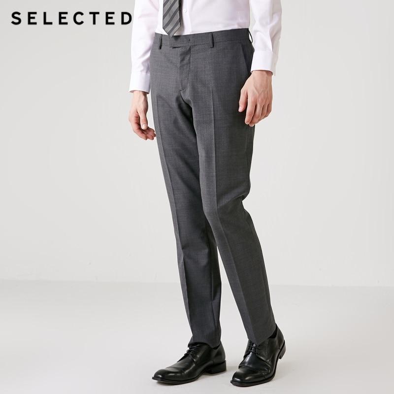 GESELECTEERDE heren pak broek T  41836C501-in Broek pak van Mannenkleding op AliExpress - 11.11_Dubbel 11Vrijgezellendag 1