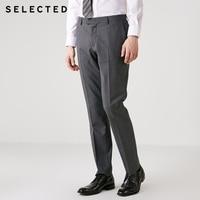 SELECTED men's business suit pants T|41836C501