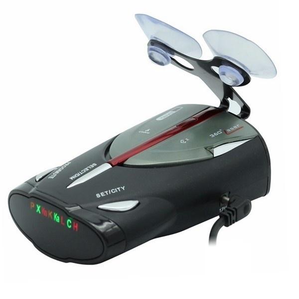 Led Cobra XRS 9880 New Car Radar Detector Russian & English Language Lacer Anti Radar Detector for Driving