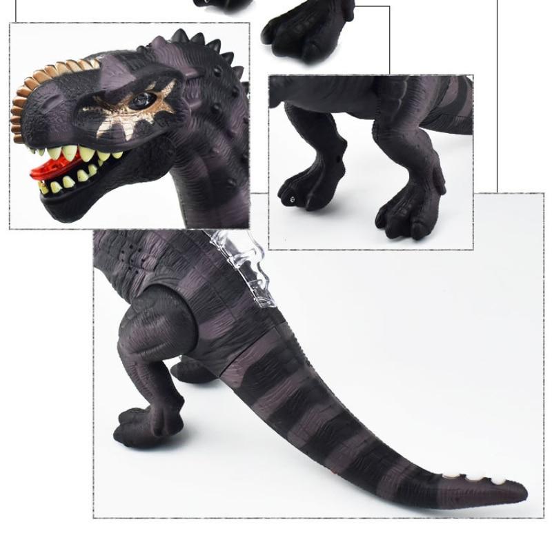 Brinquedo do dinossauro animal de brinquedo elétrico