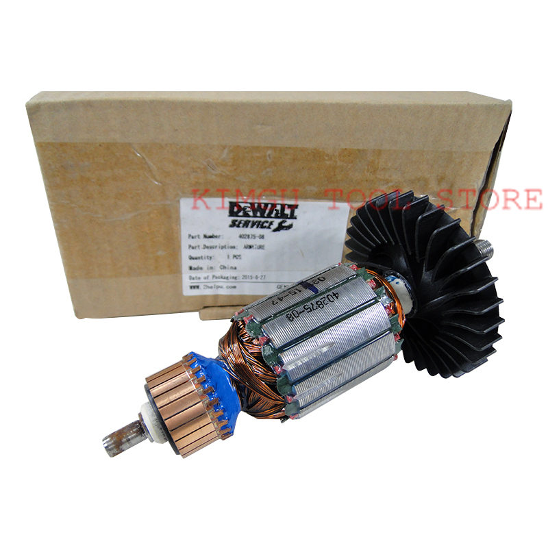 ARMATURE 220-230V Rotor 402875-08 Replace For Dewalt DW831 DW830 2711 t9a5 2711 t9 series membrane for allen bradley panelview 900 series fast shipping