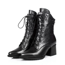 Women's boots 2016 Italian new design style leather boots high quality Genuine leather women shoes for women boots  PG306