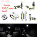 6pcs LED Canbus Interior Lights Kit Package For BMW 1 Series E82 Coupe (2008+)