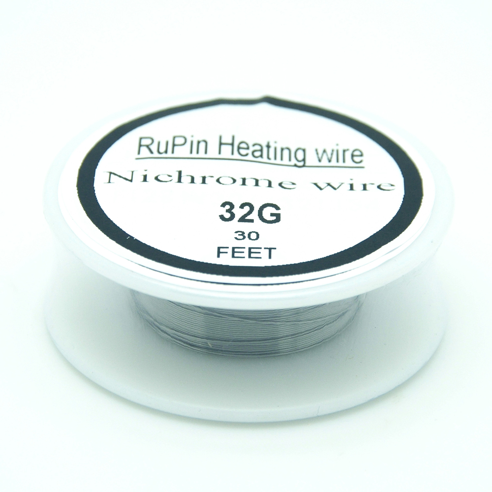 RuPin Heating Wrie Nichrome wire 32 Gauge 30 FT 0.2mm Resistance ...