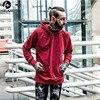 HZIJUE 2018 New Men Hip Hop Hooded Coats Sweatshirts New Hot Sale Autumn Winter Pollover Cotton
