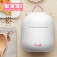 700ml Cute belly cups mini pocket stew pot Foodcontainer Insulated Thermoses Cups food vacuum flask May botll bottles with Spoon