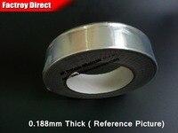 0 188mm Thick 70mm Wide 25M Long Single Heat Insulation Waterproof Aluminum Foil Glue Tape Fit