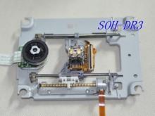 DVD CD VCD 픽업 SOH DR3 (메커니즘 포함) SOHDR3 / DR3 레이저 렌즈 (금속 메커니즘 수리 부품 포함) SOH DR3