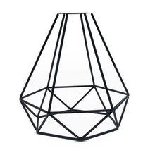 Подвесной светильник с абажуром, подвесной светильник, промышленный стиль, клетка из проволоки, Ретро стиль, клетка в стиле птичьей клетки, металлический потолок, легко подходит для дома