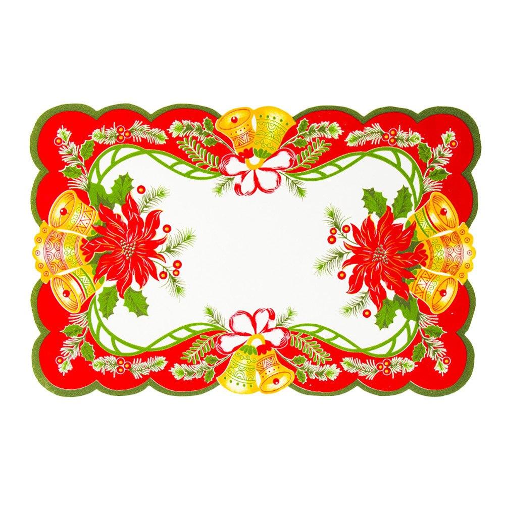 Kerstversiering Restaurant Hotel Creatieve Huishoudelijke Goederen Tafel Mat Aromatisch Karakter En Aangename Smaak