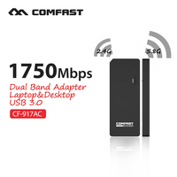 COMFAST CF 917AC Wireless Wi Fi Usb 3 0 Port Adapter 1750mbps 11ACdual Frequency Gigabit Wireless