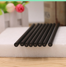 Simple all black pencil student school pen green plastic shell HB pencil drawing special pencil learning office stationery 2018 minecraft toys peripheral kit student stationery hb pencil diamond sword gift