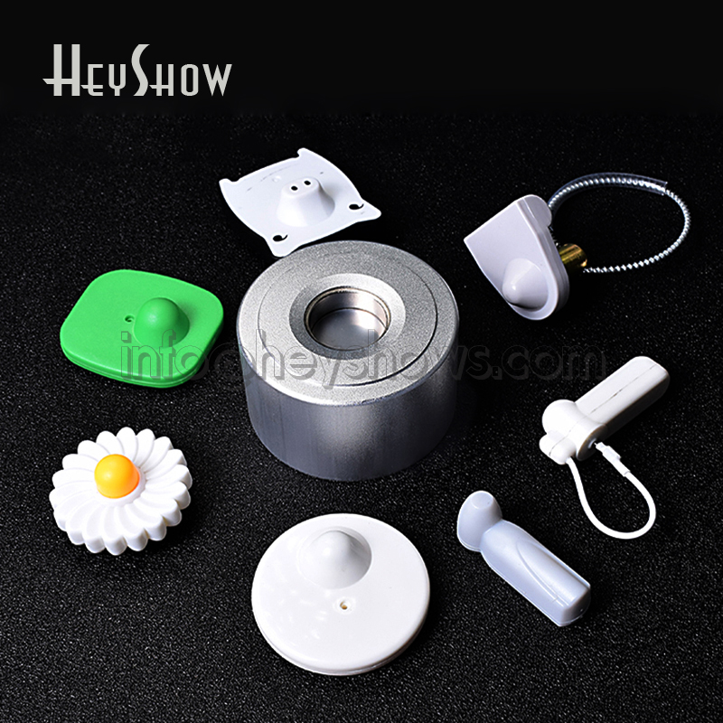 15000GS Universal Security Tag Remover Magnet Lockpicking Key For EAS Cloth Hard Tag Golf Detacher For Shoes Bag Milk Wine