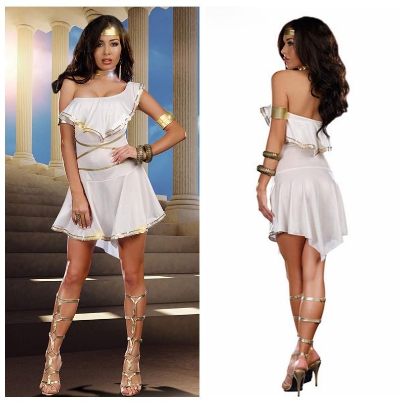 Greek Goddess Dresses: Greek Goddess Dress Women's Fancy Dress Greek Carnival