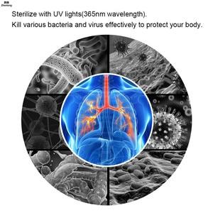 Image 5 - E27 7W żarówka UV UV ultrafioletowa fluorescencyjna żarówka Led CFL spirala Enegy oszczędność czarne światło fioletowe lampy 110v 220v 2835 Smd