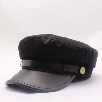 OZyc 2019 nouveau hiver gavroche casquette pour femmes noir rétro hommes boulanger bérets décontracté printemps britannique classique femme Gatsby chapeaux plats
