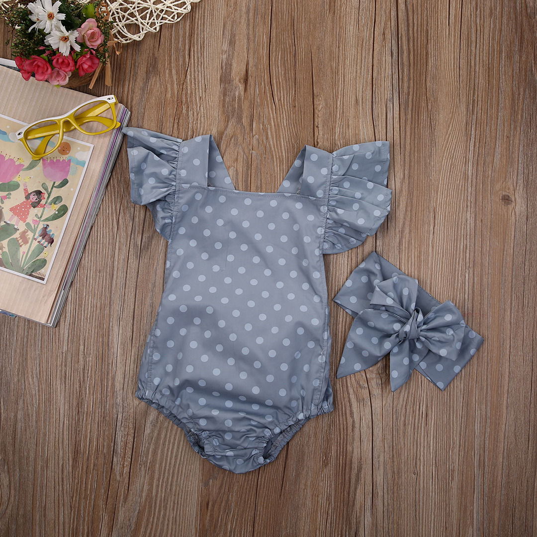 Newborn-Baby-Girls-Clothes-Polka-Dot-Baby-girl-Romper-headband-Jumpsuit-Sunsuit-Summer-baby-clothing-4