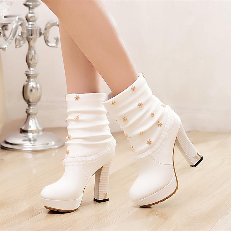 Popular White Short Heels-Buy Cheap White Short Heels lots from ...