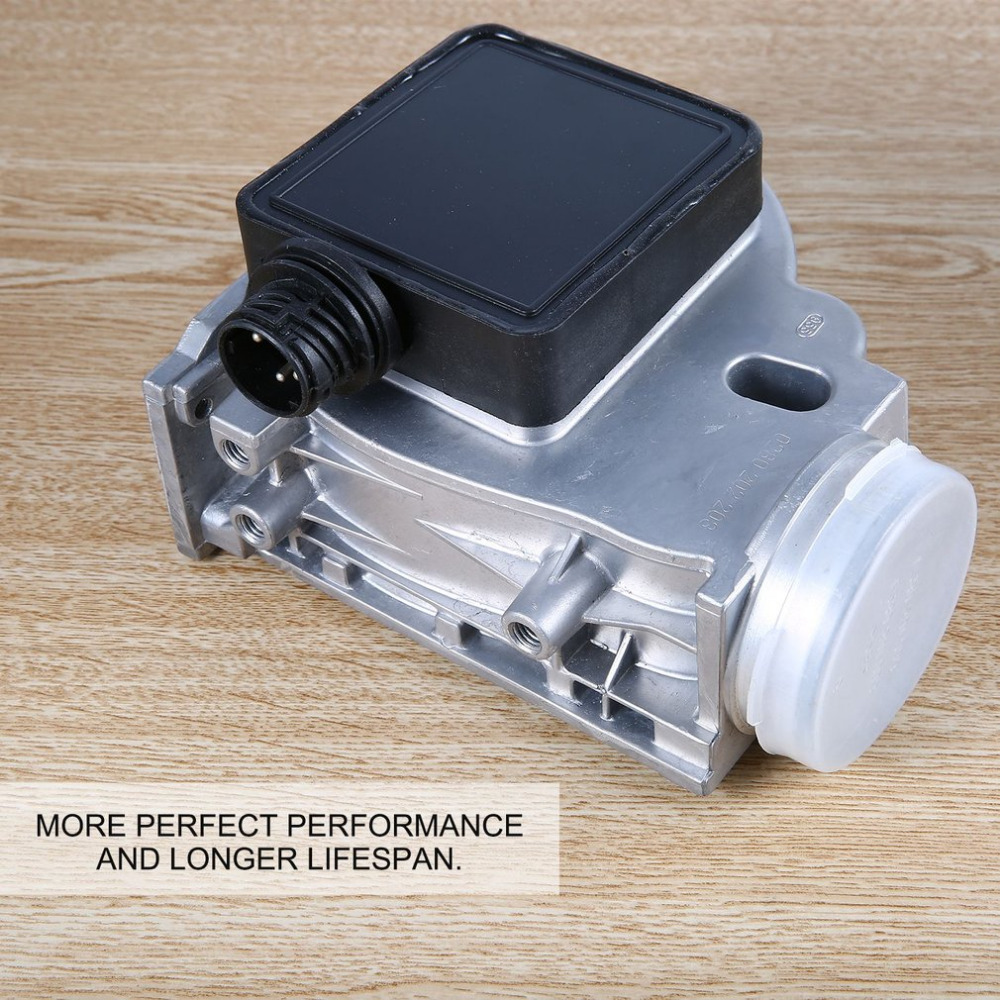Professional MAF Mass Air Flow Meter Sensor 0.1 (m3 / h) Silver for BMW E30 E36 E34 Z3 318i 318ti 318is 1.8 518i Hot Selling mostplus new mass air flow meter maf sensor for mitsubishi lancer md343605