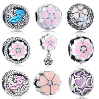 2017 Spring Collection Authentic 925 Sterling Silver Bead Fits Pandora Charm Bracelets Original Beads Charm Jewelry