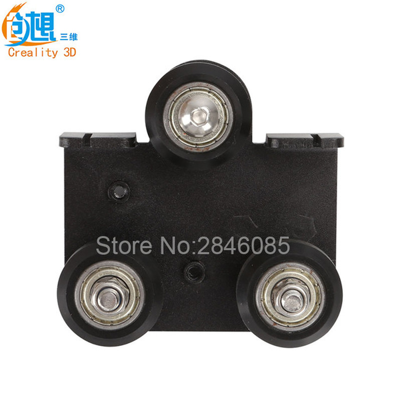 3D Printer Parts Extruder back Support Plate with pulley For Creality  3D CR-10 CR-10S Series 3d printer parts