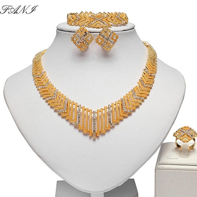 Fani Fashion African Beads Jewelry Set