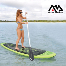 300*75*10cm AQUA MARINA BREEZE inflatable SUP arise paddle board surf board surfboard boat fishing kayak embody oar bag pump
