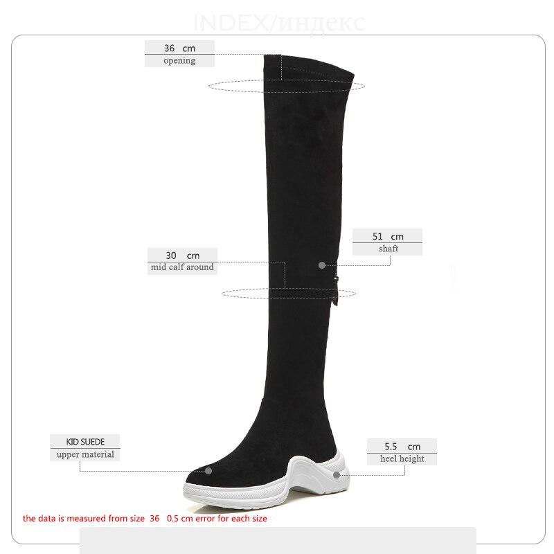 gris Zip Wetkiss Plush Bottes Bout Chaussures Noir Stretch Noir forme De  Casual gray Suede Plush Kid Plate Femme Femmes Mode Rond ... 3e613834d866