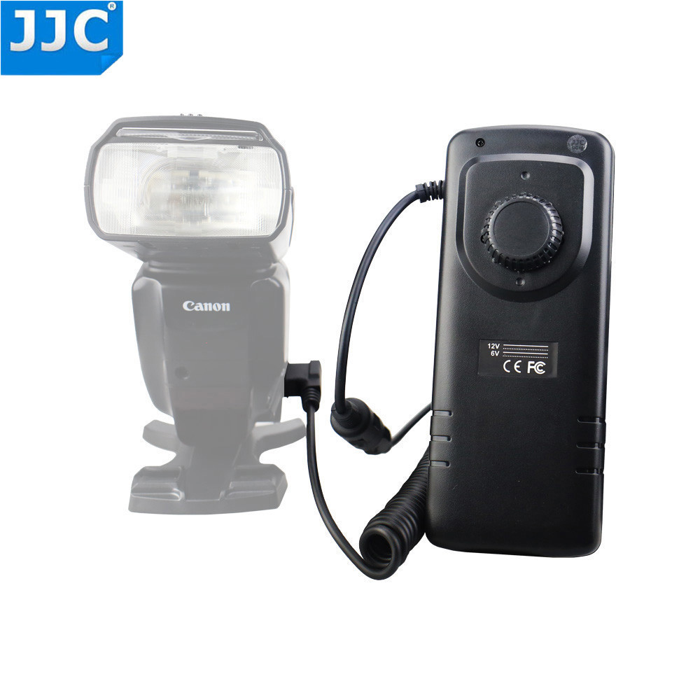 купить JJC Flashlight External Flash Battery Pack for Canon 600EX II-RT/580EX II/Nikon SB-910/Sony HVL-F60M/YONGNUO YN-560II Speedlite по цене 883.29 рублей