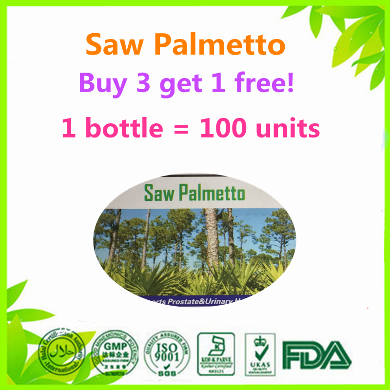 (Buy 3 get 1) NEW Saw Palmetto with Maca Ginseng L-arginine
