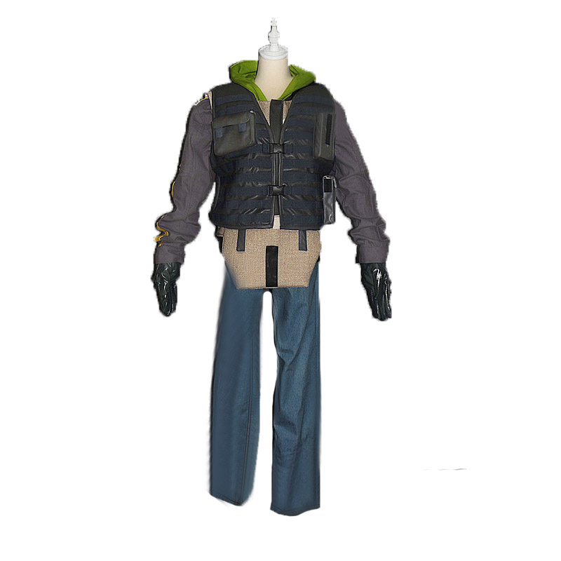Tom Clancy's Rainbow Six Siege Jager Marius Streicher Bandit cosplay Costume Uniforms Tailor made Any Size