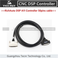 RichAuto DSP A11 A12 A15 A18 Controller connect cable 50 pins cables only