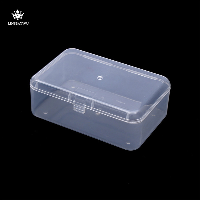 Top Selling Transparent Plastic Storage Box Clear Square Multipurpose  Display Case Plastic Jewelry Storage Boxes