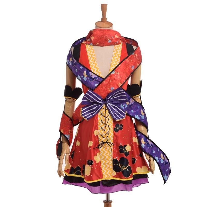 1pc Yazawa Nico Ninja Girls Cosplay Anime Love Live Costume Fancy Dress
