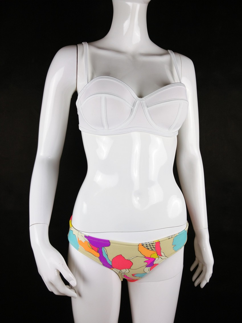Flamingo & Other Patterns Neoprene 2 Piece Bikini - 6 Variations 13