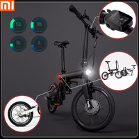 100% оригинал Xiaomi QiCYCLE EF1 Смарт складной электрический велосипед Bluetooth 4,0 16 дюймов мини электрический велосипед приложение Ebike Air доставка