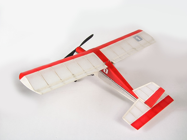 Free Shipping RC Plane Ultra-micro Balsawood Airplane Kit Aeromax Wingspan 400mm Building Kit Indoor Flying K5 5