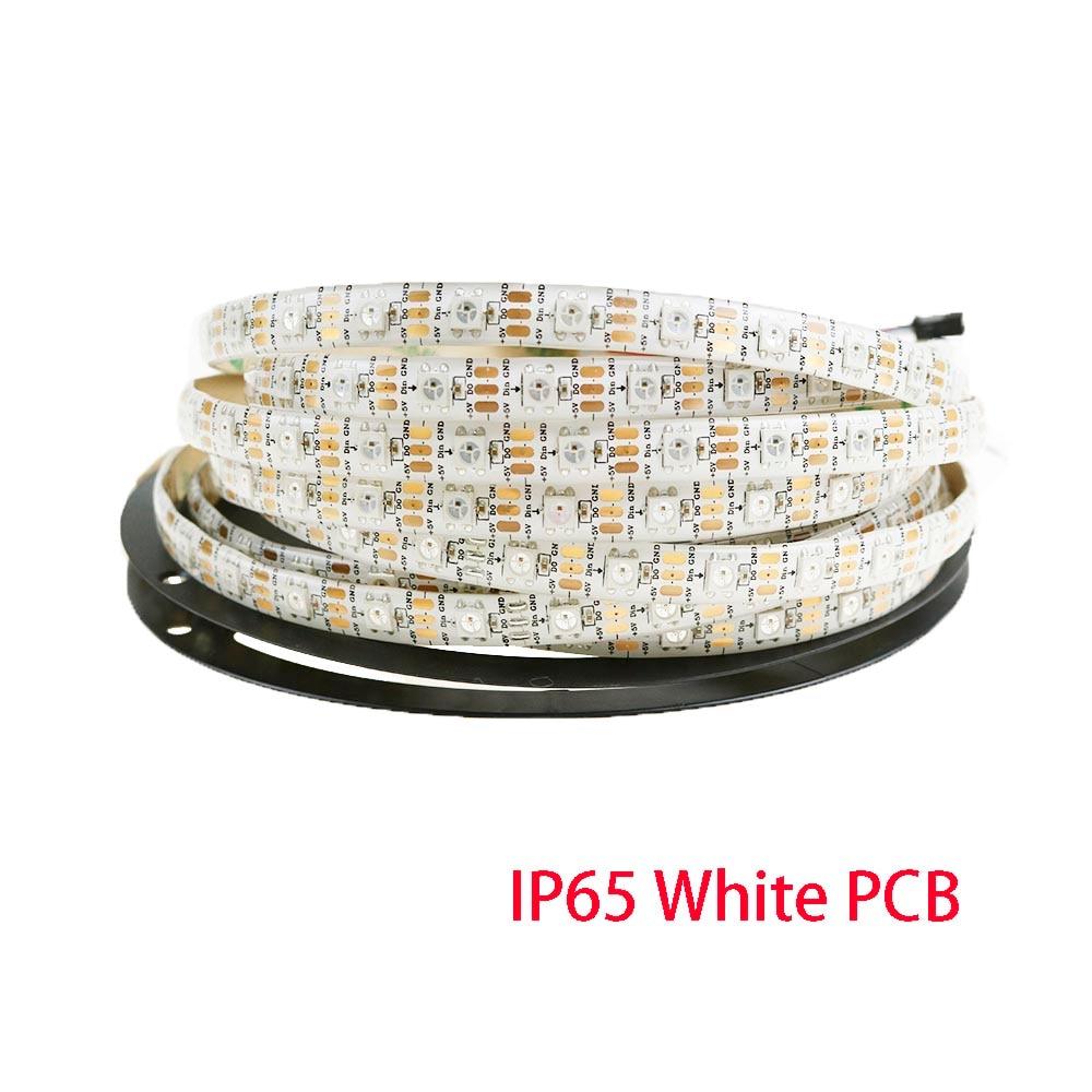 1M 5M Tira de led WS2812B 30/60/96 / 144leds DC5V Tira de píxeles de - Iluminación LED - foto 6