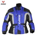 DUHAN Men's Oxford Cloth Riding Motocycle Racing Jacket Coat with Cotton Liner Motocross Windproof Clothing Five Protector Gear