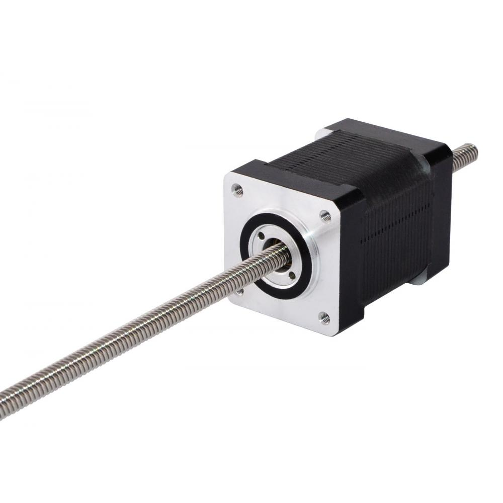 250mm Precision Nema 11 Linear Stepper Motor Non-captive Linear Actuator 46mm Stack 0.91A for 3D Printer250mm Precision Nema 11 Linear Stepper Motor Non-captive Linear Actuator 46mm Stack 0.91A for 3D Printer