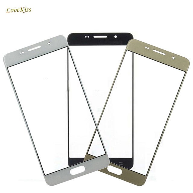 """10PCS/Lot For Samsung Galaxy J5 SM-J500F J500FN J500 J500M J500 J500Y 5"""" Touch Screen Outer Glass Front Lens Replacement Not LCD"""