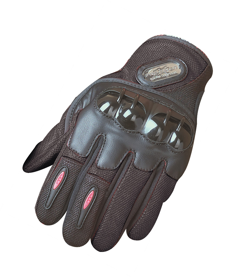 Medium, Blue Blue Carbon Fiber Pro-Biker Bike Motorcycle Motorbike Racing Gloves Full Red Black