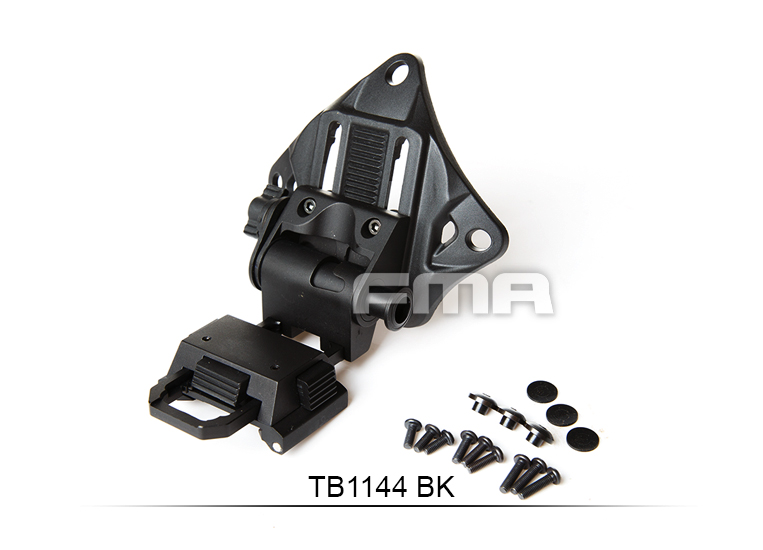 Free Shipping FMA Helmet Accessory L4G19 Helmet NVG Mount  BK  CNC TB1144  Dumpers  night vision mount nvg accessory