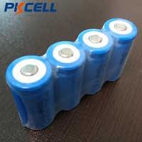 5 stücke PKCELL CR123A Akkus 16340 700 mah 3,7 v ICR16340 Li-Ion Batterie Für Taschenlampen