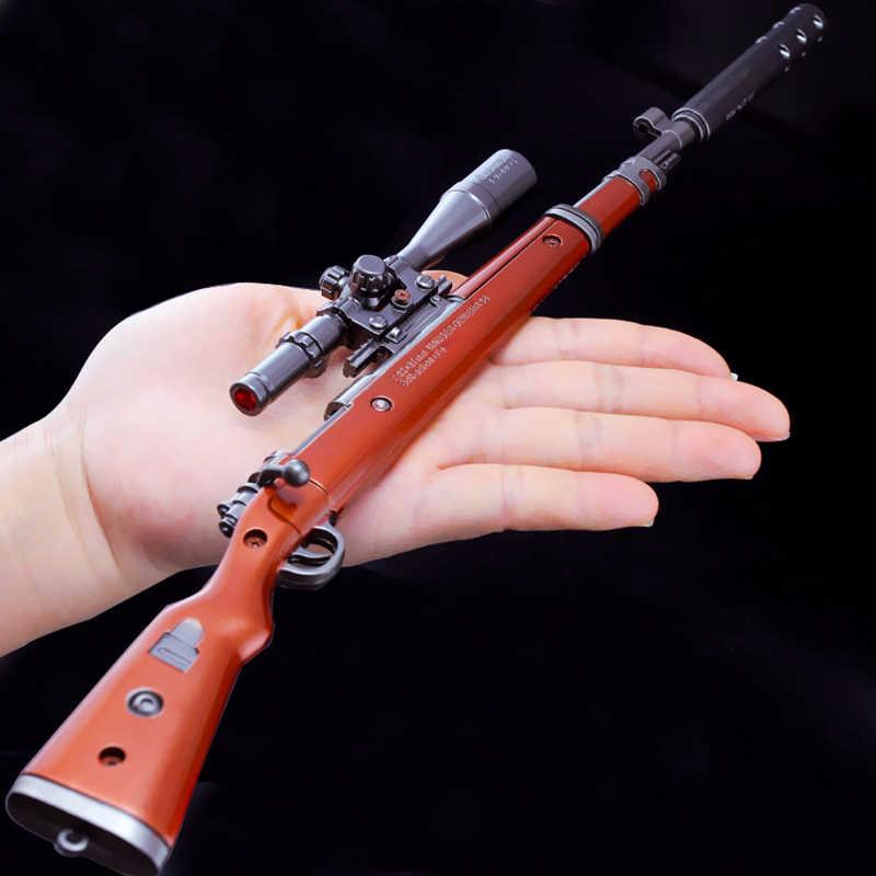 36 см игра PUBG 98 K AKM awm пистолет фигурный брелок съемная снайперская винтовка брелоки в виде оружия брелок кольца для мужчин вентиляторы подарки влюбленным