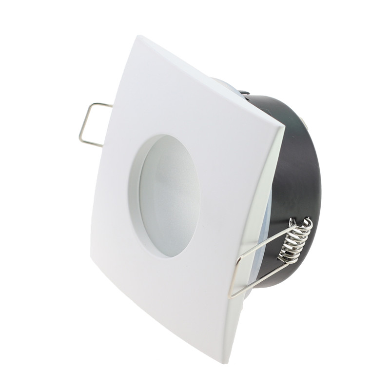 IP65 Downlight Fixture Led Recessed Fitting Fixture GU10 MR16  70mm Cutout LED Halogen Bulbs Downlight Frame Fitting Fixture