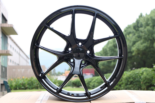 4 New 20 Gloss Black Wheel Rims wheels W005