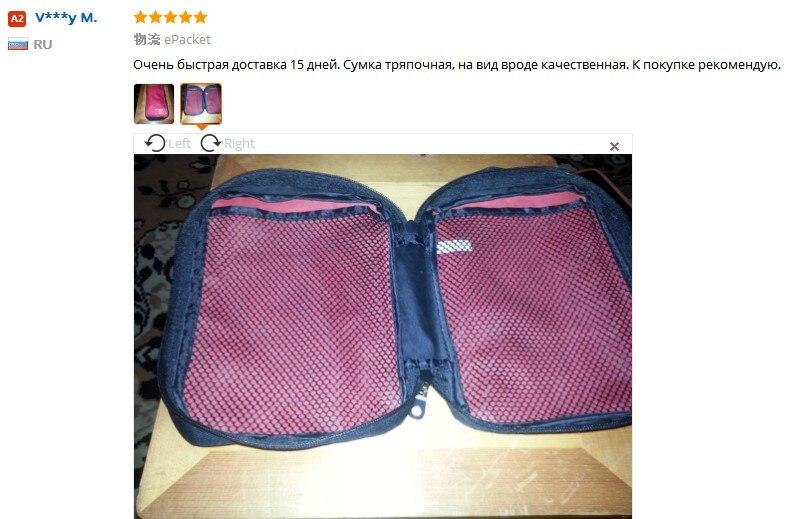 Borsa di pronto soccorso CAMMITEVER Organizer per la casa Borsa per - Portautensili - Fotografia 3
