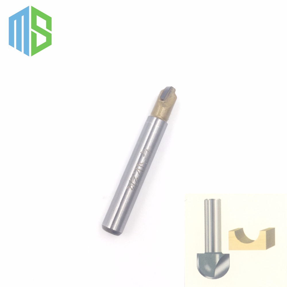 1/4 x 1/4 inch Carpenter Router Bits Cove Box Bit / Round Nose bit for woodworking Router bit Wood Sharp Cutter point cut round over groove 1 4 1 4 woodworking tool needle nose cutters wood cnc router bits endmill manufacturer tideway 2886