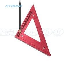 90 градусов прецизионная деревообрабатывающая линия, треугольная линейка, измерительная линейка, квадратная линейка, столярные Деревообрабатывающие инструменты